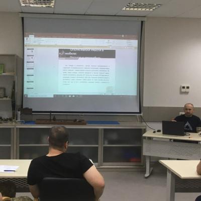 Семінар-тренінг для ОФІЦЕРІВ ОСОБИСТОЇ ОХОРОНИ